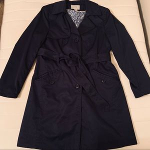 Dark Navy Fitted Coat